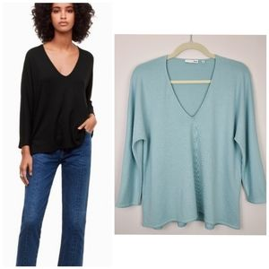 Aritzia Wilfred Free Aneta Long Sleeve Shirt XS